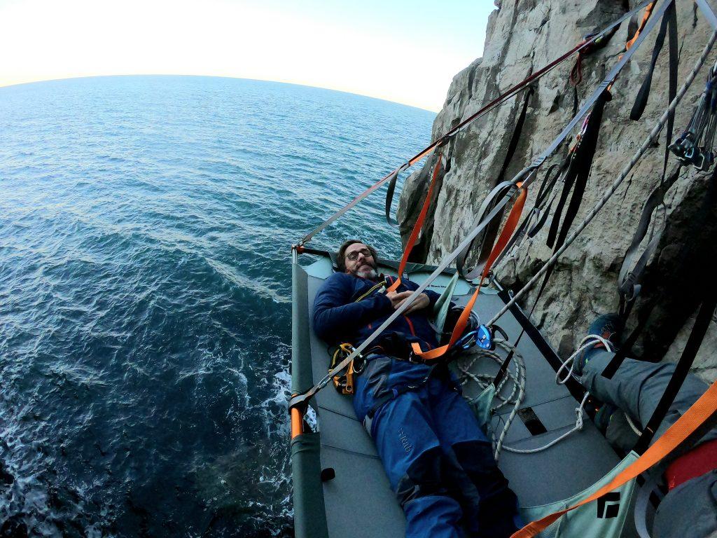 sea cliff camping