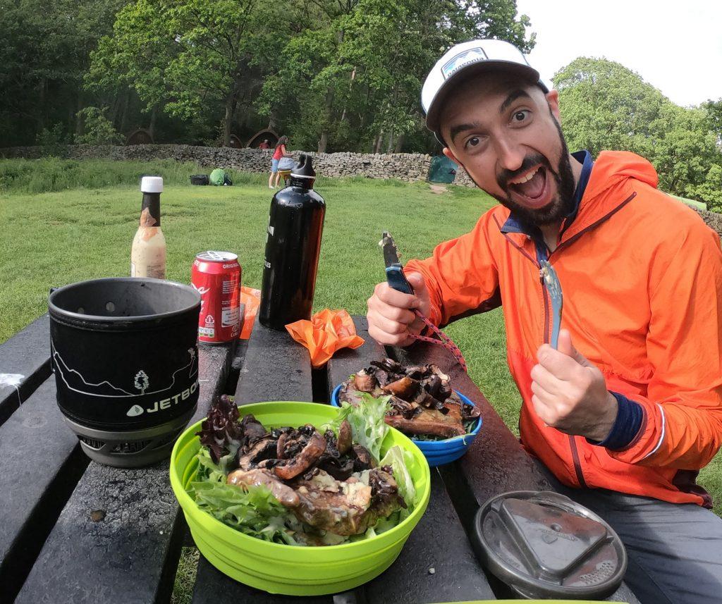 Base camp food Hepworth Adventures